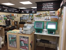 Fujifim Kiosk at Saxon Photographic
